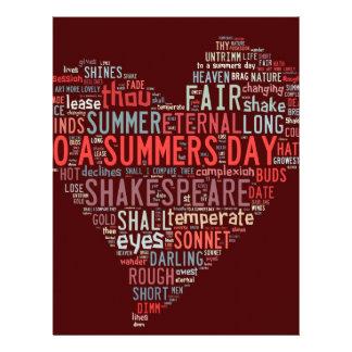 Shakespeare Sonnet Letterhead Template