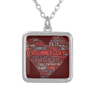 Shakespeare Sonnet Necklaces