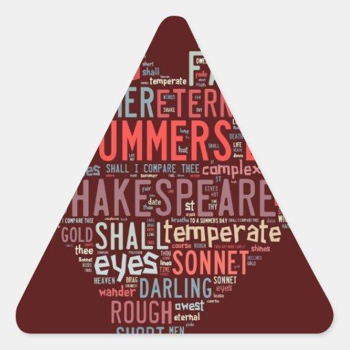 Shakespeare Sonnet Stickers