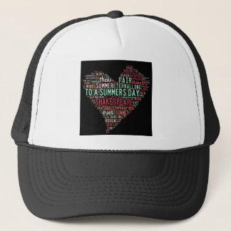 Shakespeare Sonnet Trucker Hat