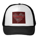 Shakespeare Sonnet Trucker Hats