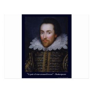 Shakespeare Star-Crossed Lovers Gifts Mugs Tees Postcard