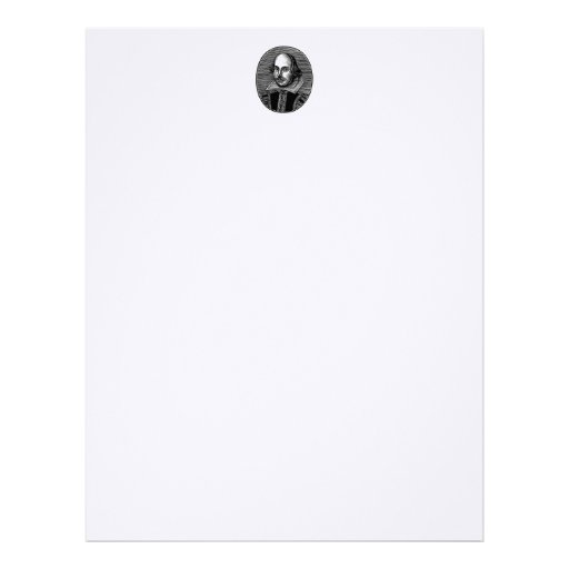 Shakespeare Stationery Letterhead