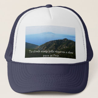 Shakespeare Success Quotations Trucker Hat