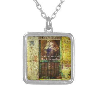 Shakespeare - To be, or not to be Necklace