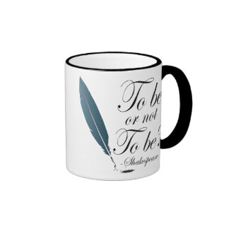 Shakespeare To Be or Not to Be Quote Mug