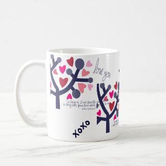 Shakespeare Valentine's Day Love Quotes Mug