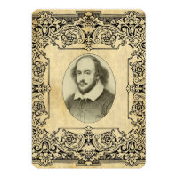 Shakespeare Wedding Invitation