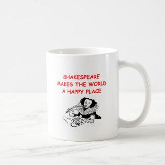 shakespeare willian taza básica blanca