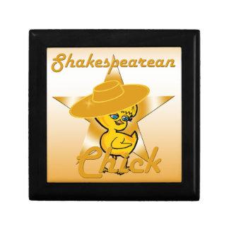 Shakespearean Chick #10 Keepsake Box