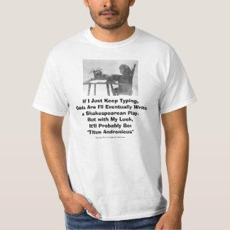 Shakespearean Chimp Shirt