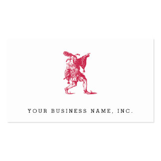 Shakespearean Jester Double-Sided Standard Business Cards (Pack Of 100)