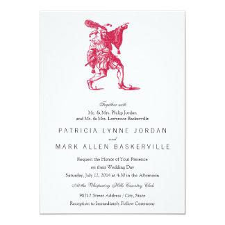 Shakespearean Jester Personalized Invite