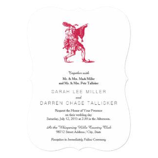 Shakespearean Jester Custom Invitations