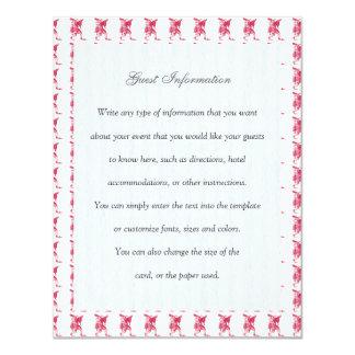 Shakespearean Jester Personalized Invitation