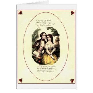 Shakespearean Love Card