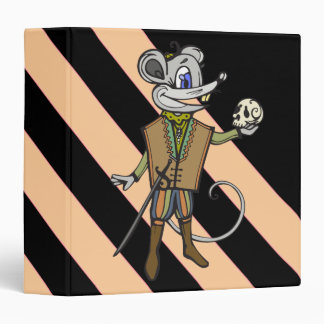 Shakespearean Mouse Vinyl Binder