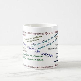 Shakespearean Quotes Mug