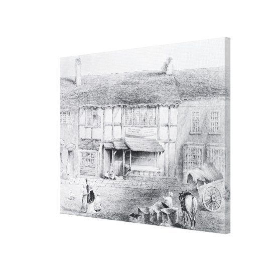 Shakespeare's Birthplace Canvas Print