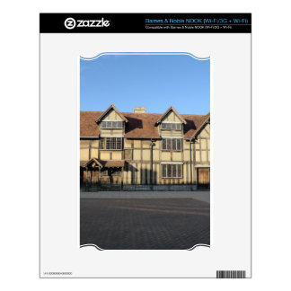 Shakespeare's Birthplace in Stratford Upon Avon Decals For NOOK