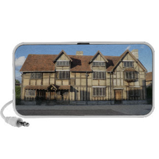 Shakespeare's Birthplace in Stratford Upon Avon iPhone Speakers