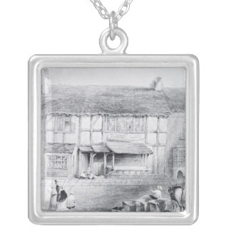 Shakespeare's Birthplace Silver Plated Necklace