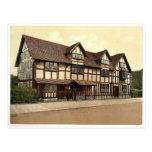 Shakespeare's birthplace, Stratford-on-Avon, Engla Postcard