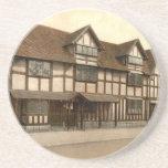 Shakespeare's Birthplace, Stratford-upon-Avon Beverage Coasters