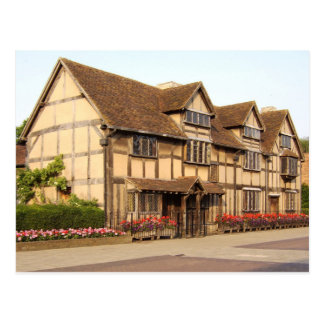 Shakespeare's Birthplace, Stratford-upon-Avon Postcard