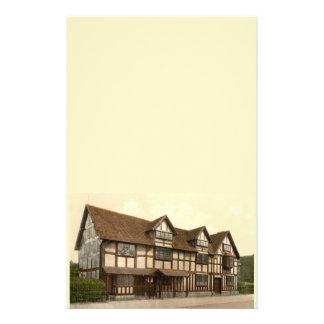 Shakespeare's Birthplace, Stratford-upon-Avon, UK Stationery