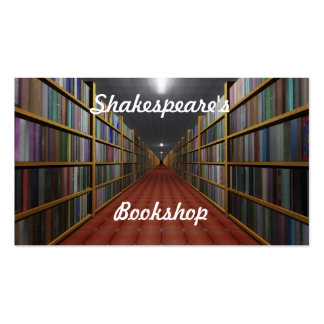 Shakespeare's Bookshop Business Card