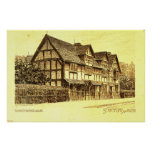 Shakespeare's House Stratford on Avon Posters