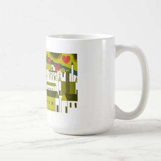 Shakespeare's London: Bankside Classic White Coffee Mug