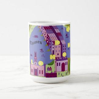 Shakespeare's London: London Bridge Classic White Coffee Mug
