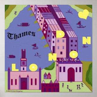 Shakespeare's London: London Bridge Poster