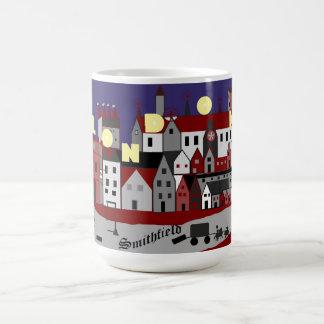 Shakespeare's London -- Smithfield Classic White Coffee Mug