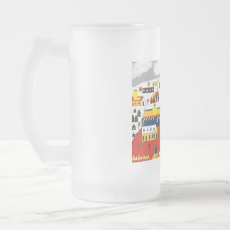 Shakespeare's London: St. Paul's 16 Oz Frosted Glass Beer Mug