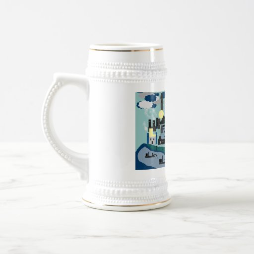 Shakespeare's London: The Tower 18 Oz Beer Stein