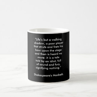 Shakespeare's Macbeth - coffee mug