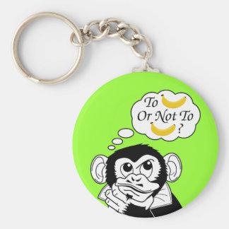 Shakespeare's Monkey Keychain