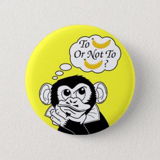 Shakespeare's Monkey Pinback Button