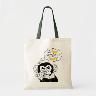 Shakespeare's Monkey Tote Bag
