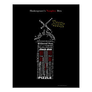 Shakespeare's Naughty Bits: The Tower of London Poster