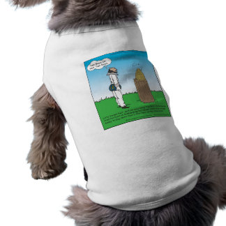 Shakespeare's The BeeKeeper Funny Gifts & Tees Doggie T Shirt