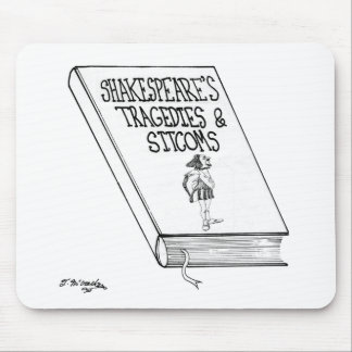 Shakespeare's Tragedies and Sitcoms Mouse Pad