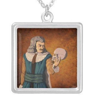 Shakespear's Hamlet Silver Plated Necklace