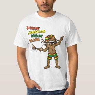 Shakin' Jamaican Makin' Bacon T Shirts
