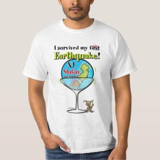 Shakin not stirred - NJ earthquake T-Shirt