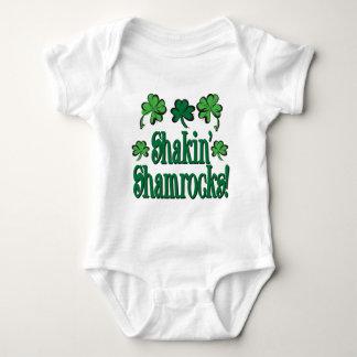 Shakin' Shamrocks Baby Bodysuit