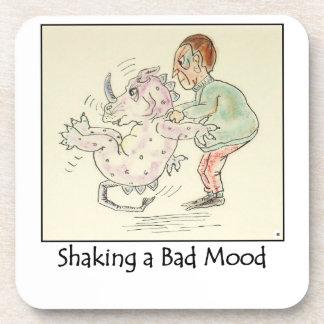 Shaking a Bad Mood Coasters